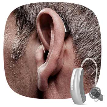 Hidden hearing solution by Widex, for bloom hearing specialists