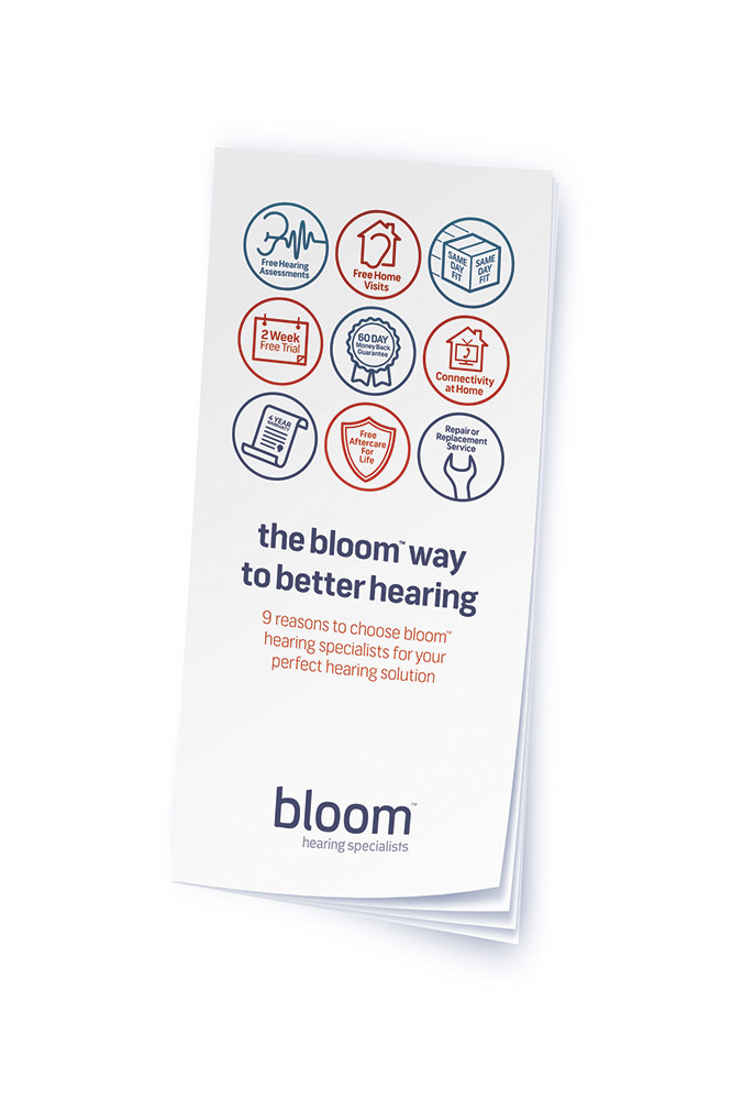 the bloomWay leaflet